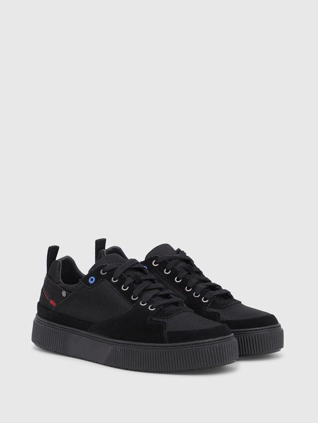 Diesel - S-DANNY LC II, Black - Sneakers - Image 2