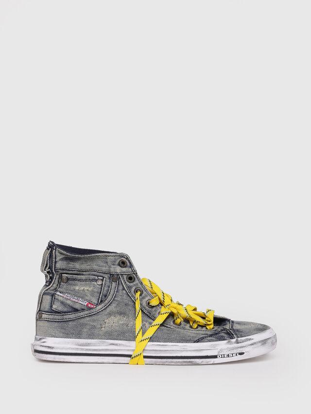 Diesel - EXPOSURE I, Grey Jeans - Sneakers - Image 1