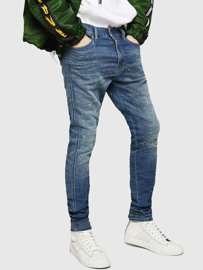 Diesel - D-Reeft JoggJeans 069HG, Medium blue - Jeans - Image 1