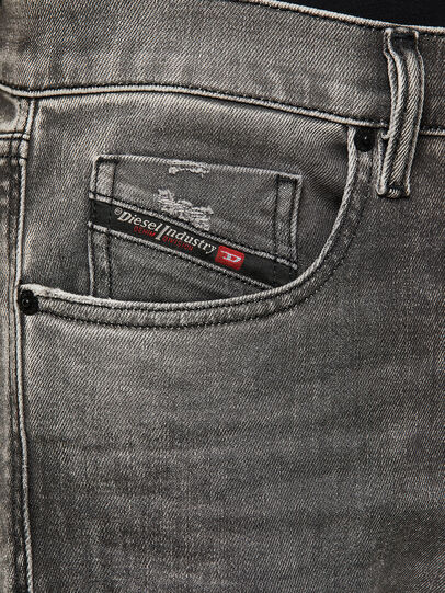 Diesel - D-Strukt 009KA, Light Grey - Jeans - Image 3