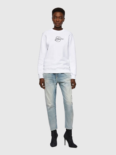 Diesel - F-ANGS-B1, White - Sweaters - Image 4