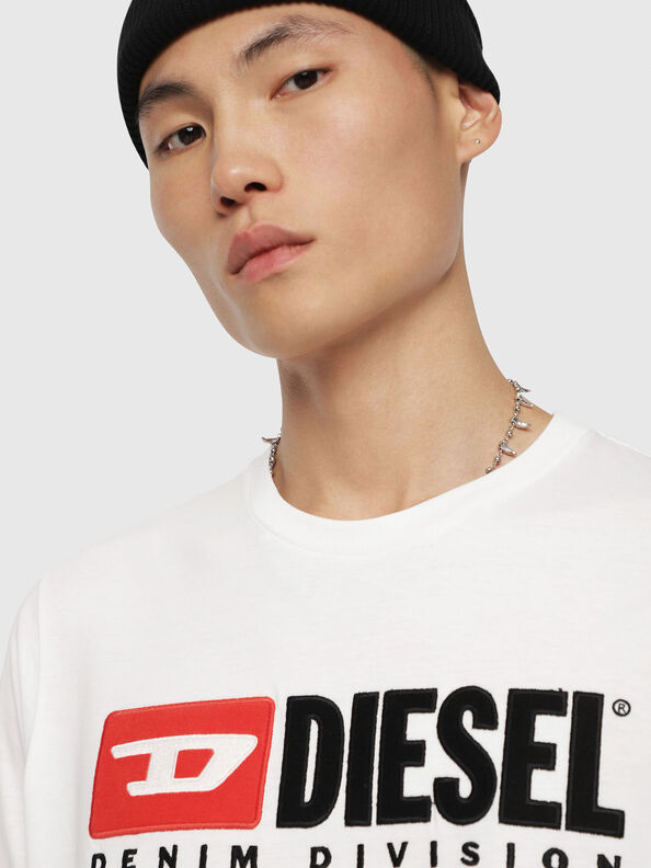 T-JUST-LS-DIVISION, White - T-Shirts