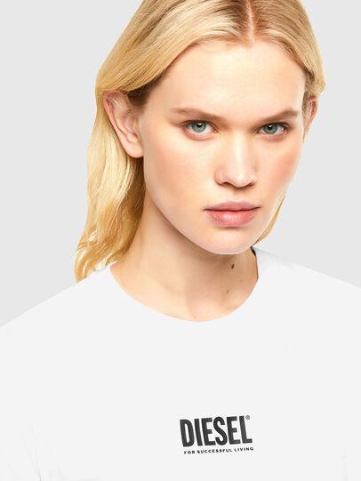 Diesel - T-SILY-SMALLOGO, White - T-Shirts - Image 3