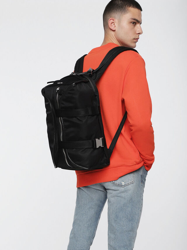 Diesel - F-LAW BACK, Black/Blue - Backpacks - Image 5