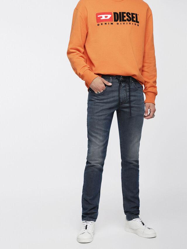 Diesel - Thommer JoggJeans 084ZJ, Medium blue - Jeans - Image 1