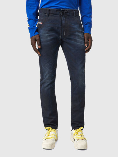Diesel - Krooley JoggJeans® 069XM, Dark Blue - Jeans - Image 1