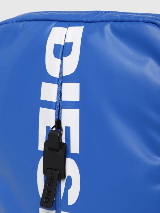 Diesel - F-BOLD SMALL CROSS, Brilliant Blue - Crossbody Bags - Image 3