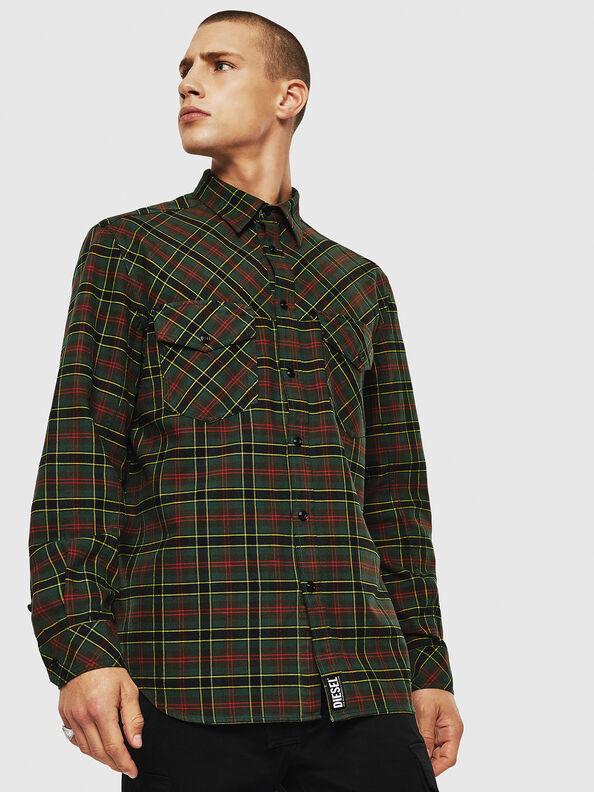 S-TOLSTOJ, Dark Green - Shirts