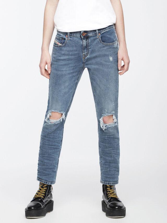 Diesel - Belthy 084UV, Light Blue - Jeans - Image 3