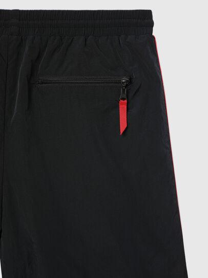 Diesel - UMLB-PANLEY, Black/Red - Pants - Image 4