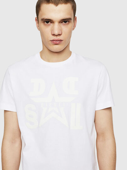 Diesel - T-DIEGO-A8, White - T-Shirts - Image 3