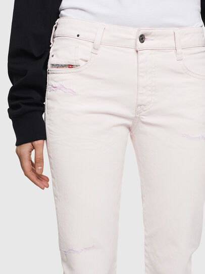 Diesel - D-Rifty 069MS, White - Jeans - Image 3