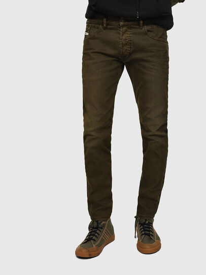 Diesel - D-Bazer 0091T, Military Green - Jeans - Image 1