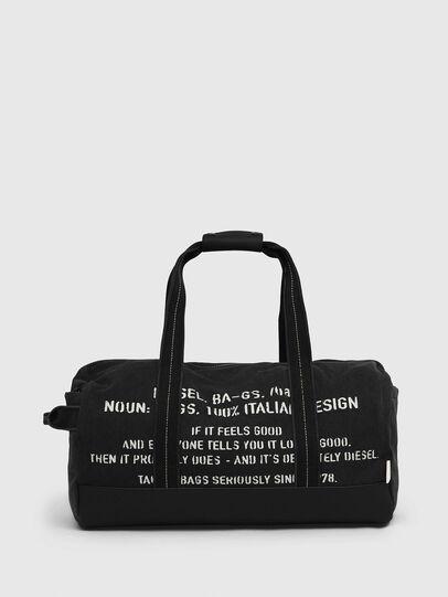 Diesel - D-THISBAG TRAVEL BAG, Black - Travel Bags - Image 1