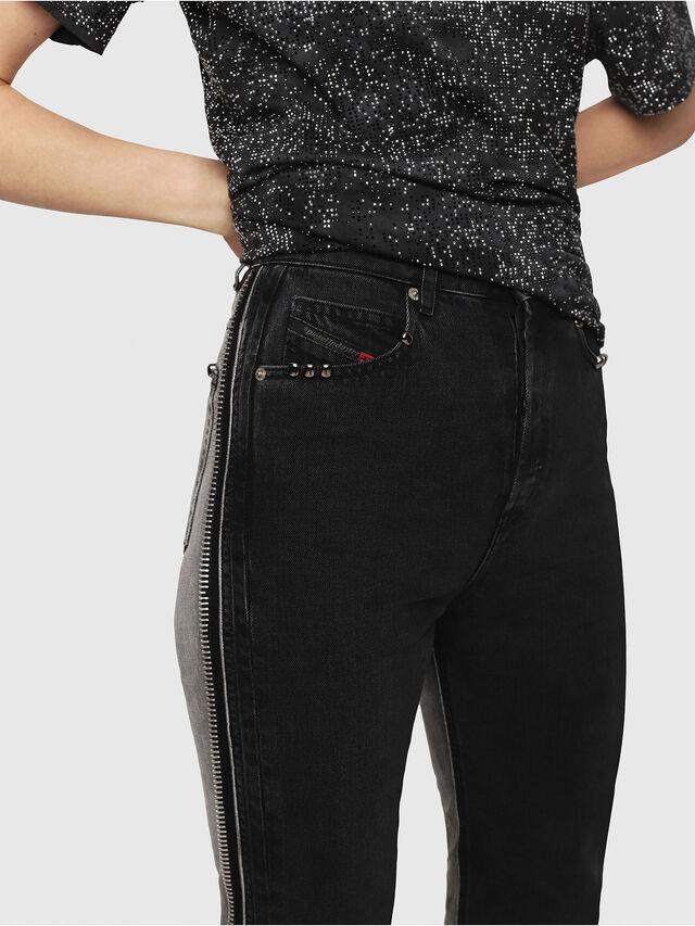 Diesel - D-Eiselle 082AN, Black/Dark grey - Jeans - Image 4