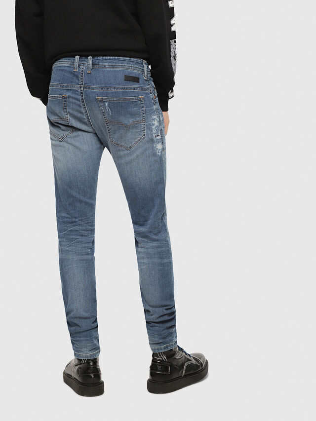 Diesel - Thommer JoggJeans 069BB, Medium blue - Jeans - Image 2