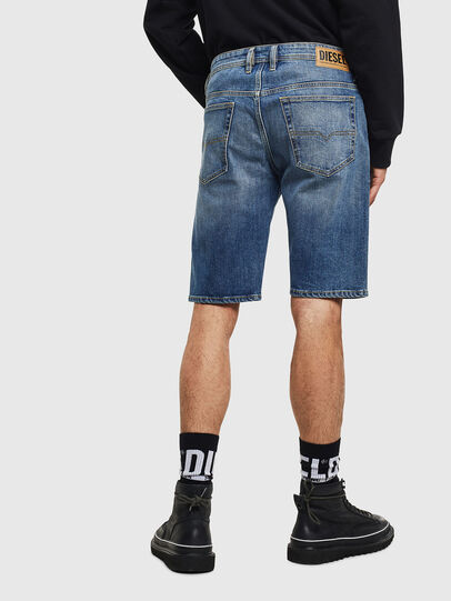 Diesel - THOSHORT, Medium blue - Shorts - Image 2