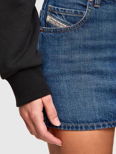 Diesel - DE-EISY, Medium blue - Skirts - Image 3