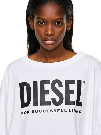 Diesel - D-EXTRA-ECOLOGO, White - Dresses - Image 3