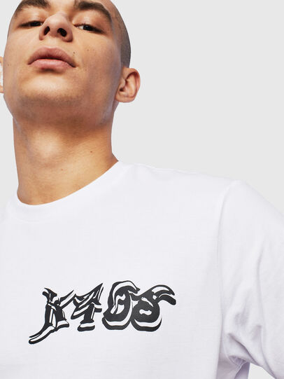 Diesel - T-JUST-T31, White - T-Shirts - Image 3