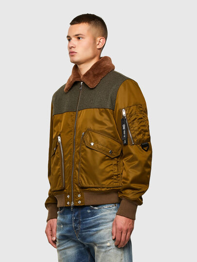 Diesel - W-LOUIS, Dark Green - Winter Jackets - Image 7