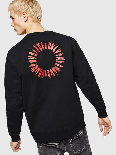 Diesel - S-GIR-A3, Black - Sweaters - Image 2