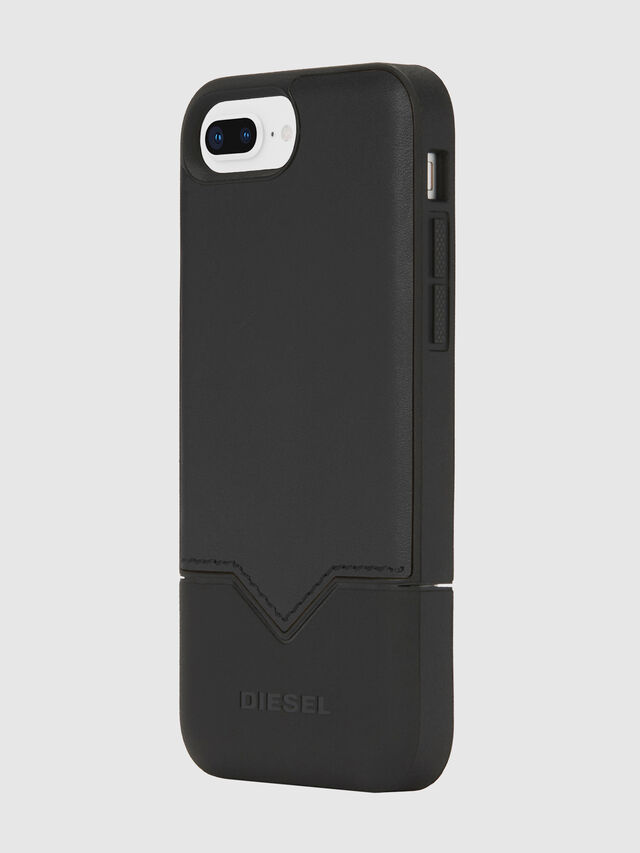 Diesel - CREDIT CARD IPHONE 8 PLUS/7 PLUS/6S PLUS/6 PLUS CASE, Black - Cases - Image 3