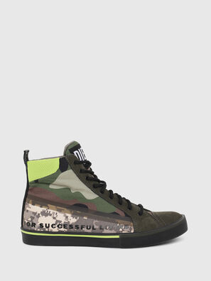 S-DVELOWS MID, Green Camouflage - Sneakers