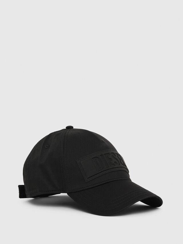 Diesel - C-SEL, Black - Caps, Hats and Gloves - Image 1