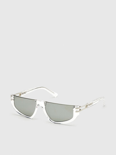 Diesel - DL0315, White - Sunglasses - Image 2