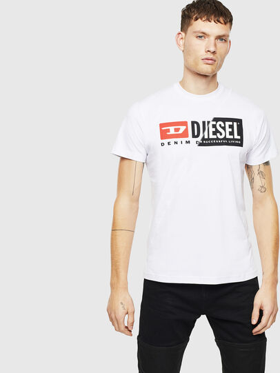 Diesel - T-DIEGO-CUTY, White - T-Shirts - Image 4