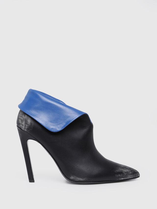 Diesel - D-SLANTY HA, Black/Blue - Ankle Boots - Image 1