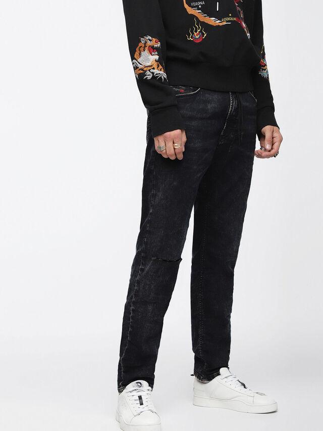 Diesel - Narrot JoggJeans 084XM, Black/Dark grey - Jeans - Image 1