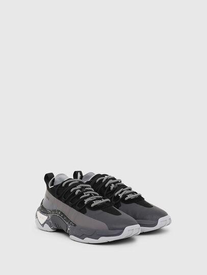 Diesel - S-KIPPER BAND, Gray/Black - Sneakers - Image 2