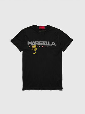 LCP-T-DIEGO-MARSELLA, Black - T-Shirts