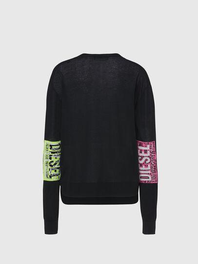 Diesel - M-PALMER, Black - Knitwear - Image 2