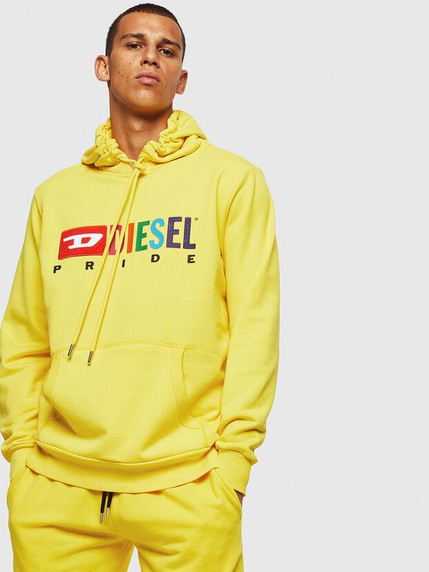 S-GIR-HOOD, Yellow - Sweaters