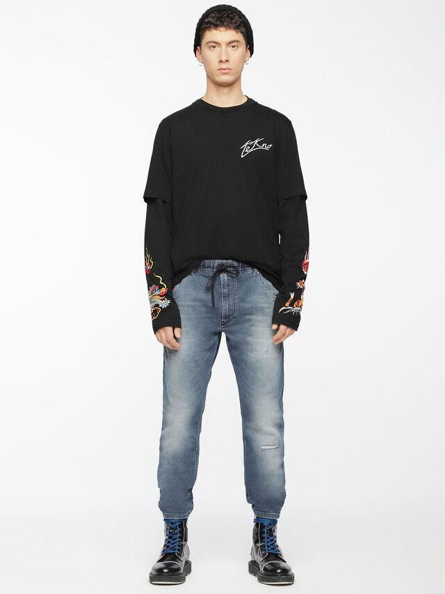 Diesel - Krooley JoggJeans 084UC, Light Blue - Jeans - Image 5