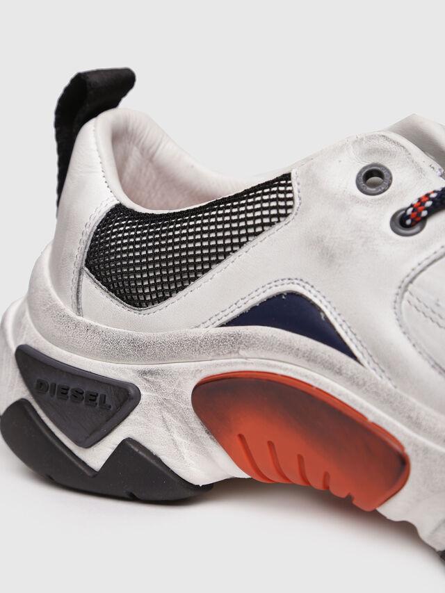 Diesel - S-KIPPER LC, White - Sneakers - Image 4