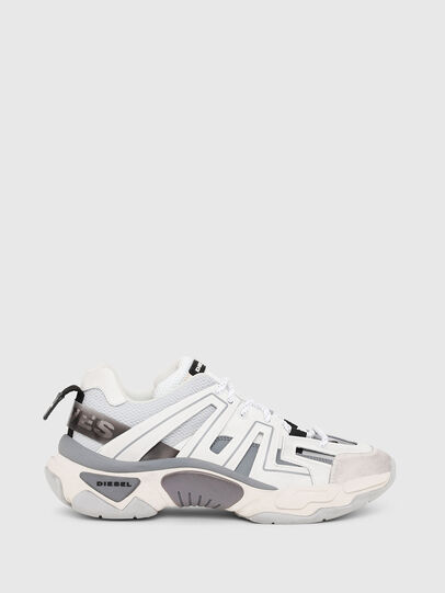 Diesel - S-KIPPER LOW TREK, White - Sneakers - Image 1