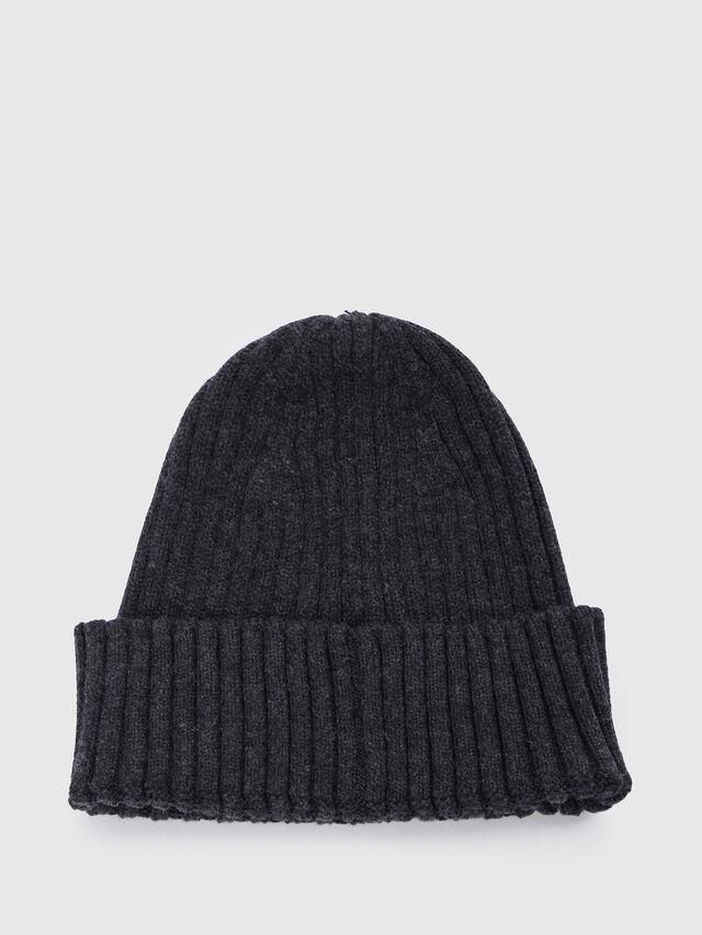 Diesel - K-CODER-B, Black - Caps, Hats and Gloves - Image 2