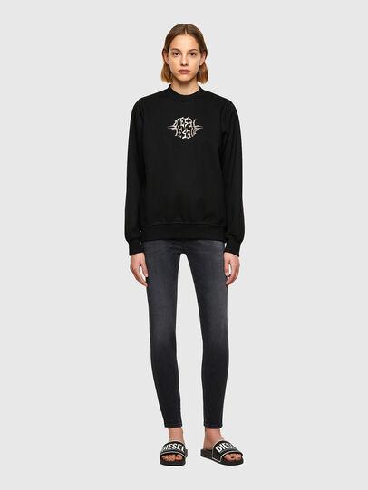 Diesel - F-ANG-K17, Black - Sweaters - Image 4