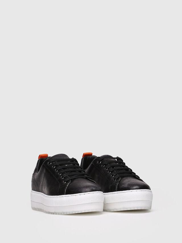 Diesel - S-LENGLAS LOW LACE, Black - Sneakers - Image 3