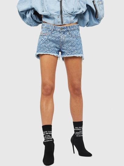 Diesel - DE-RIFTY, Light Blue - Shorts - Image 1