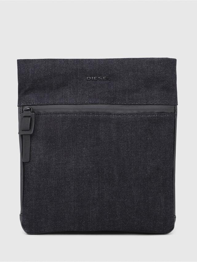 Diesel - D-SUBTORYAL CROSS, Blue Jeans - Crossbody Bags - Image 1