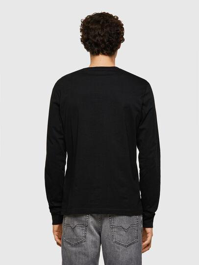 Diesel - T-DIEGOS-LS-K24, Black - T-Shirts - Image 2