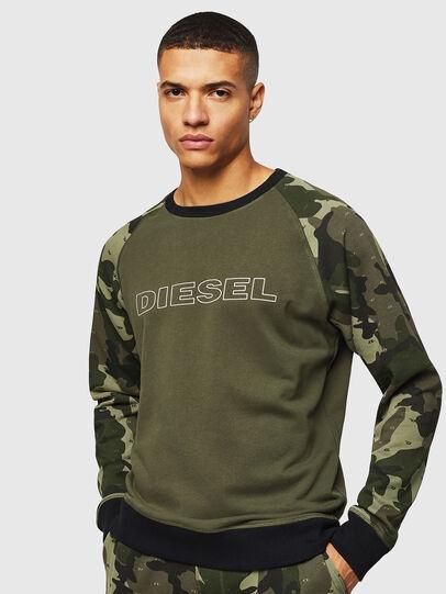 Diesel - UMLT-MAX, Green Camouflage - Sweaters - Image 1