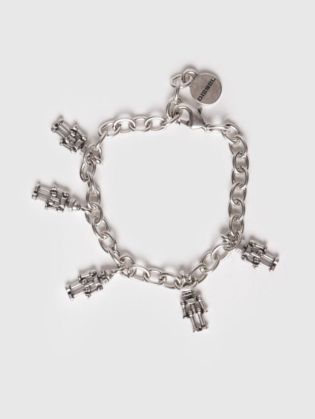 Diesel - A-ROBI, Silver - Bijoux and Gadgets - Image 1