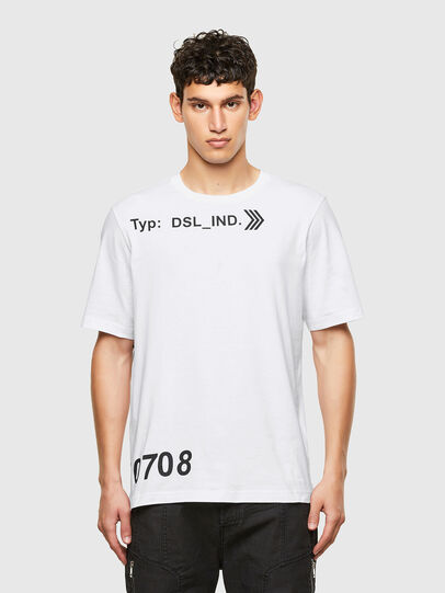 Diesel - T-JUST-A42, White - T-Shirts - Image 1