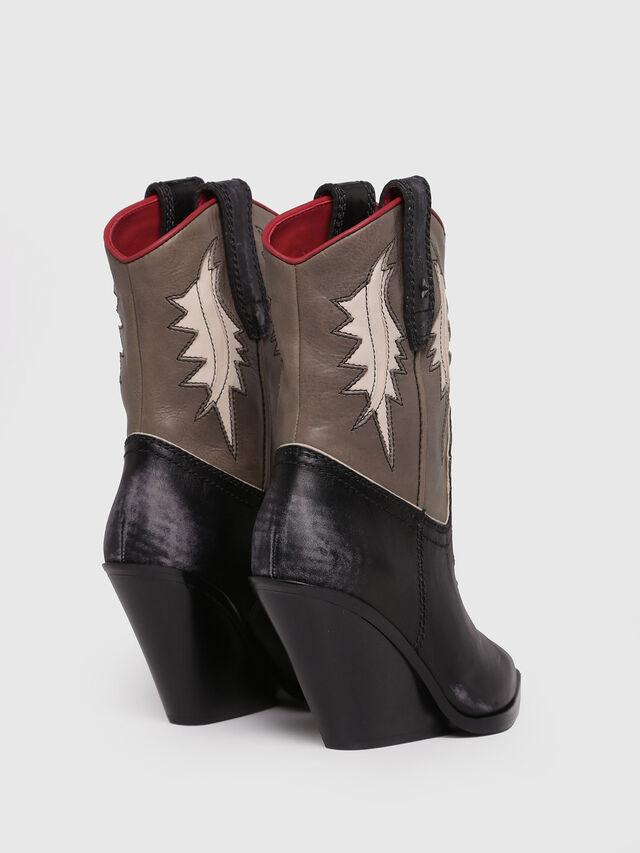 Diesel - D-WEST B, Black/Brown - Ankle Boots - Image 3